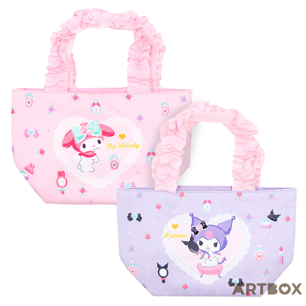 My Melody & Kuromi tote bags