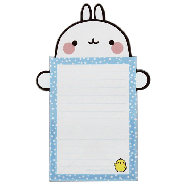 Molang kawaii notepad