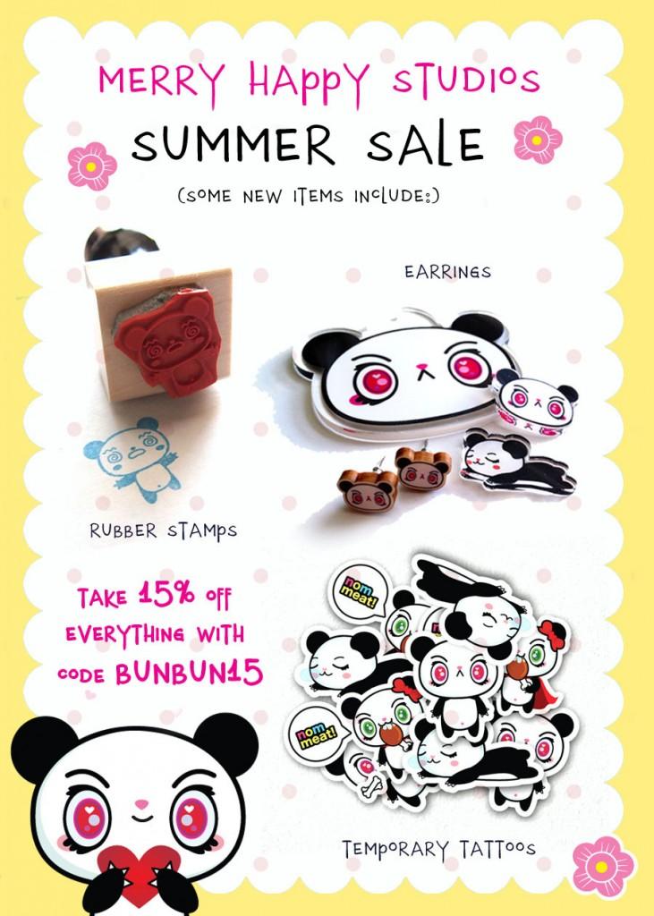 Merry Happy Studios_Summer Sale