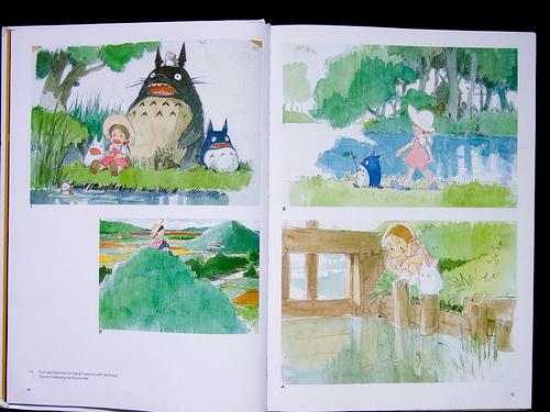 Totoro kawaii art books