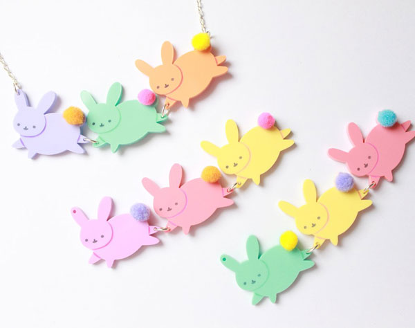 Easter Bunny jewellery