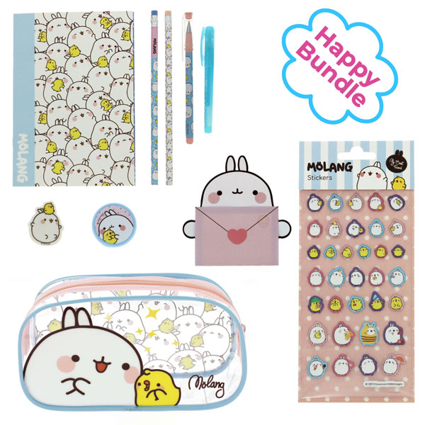 Molang kawaii stationery