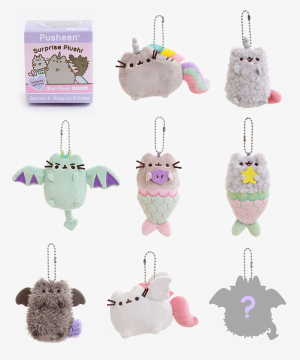 pusheen Magical Kitties surprise plush blind boxes