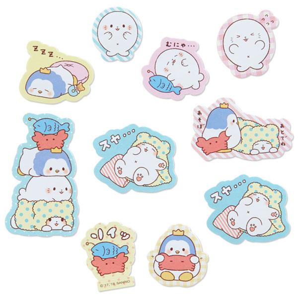 Marumofubiyori stickers