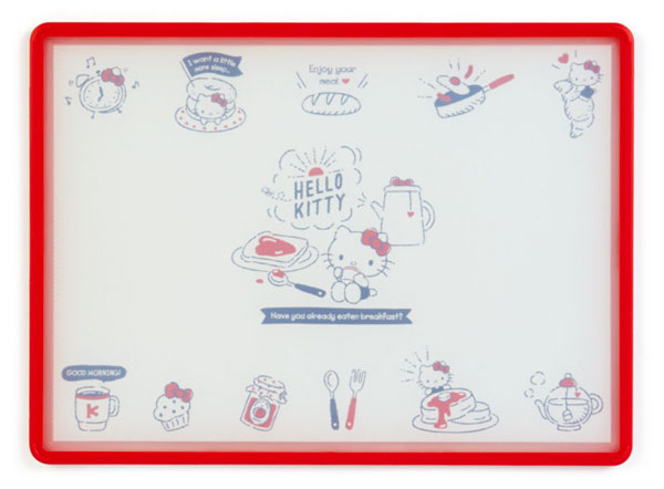 kawaii kitchen Hello Kitty cutting board