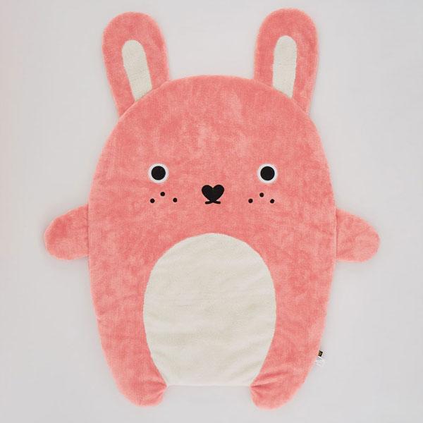 Noodoll Plush bunny blanket