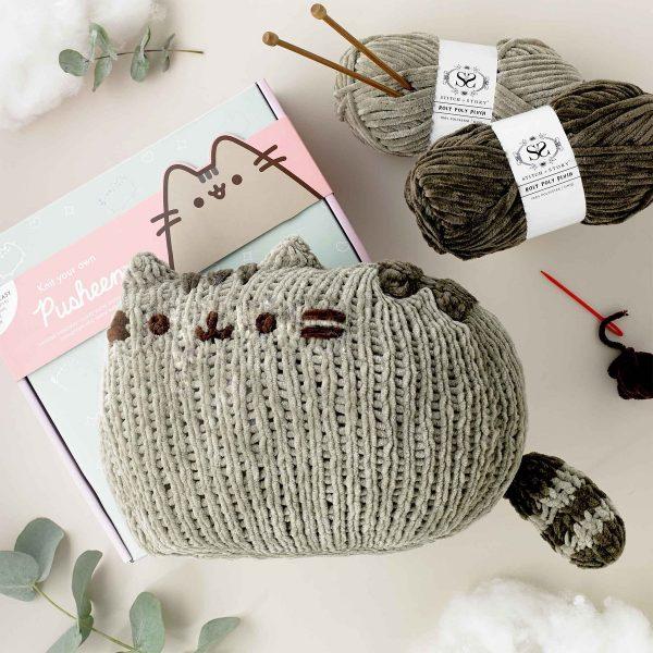Pusheen knitting pattern