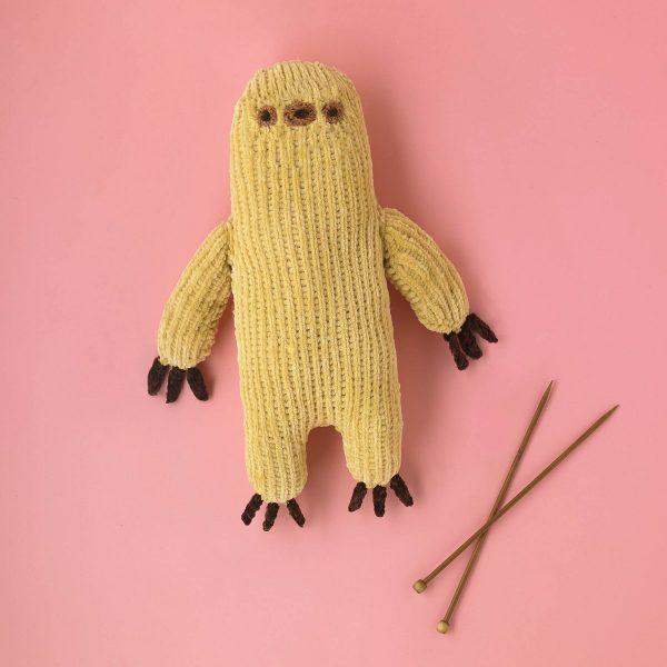 Sloth Pusheen knitting pattern