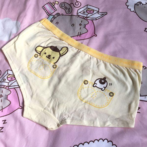 pompompurin kawaii underwear