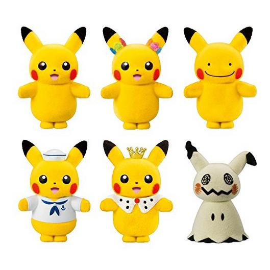Pokemon Dolls Pikachu mascots plush
