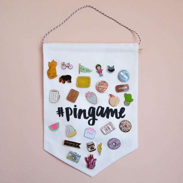 Cute Ways to Display Your Enamel Pins - Super Cute Kawaii!!