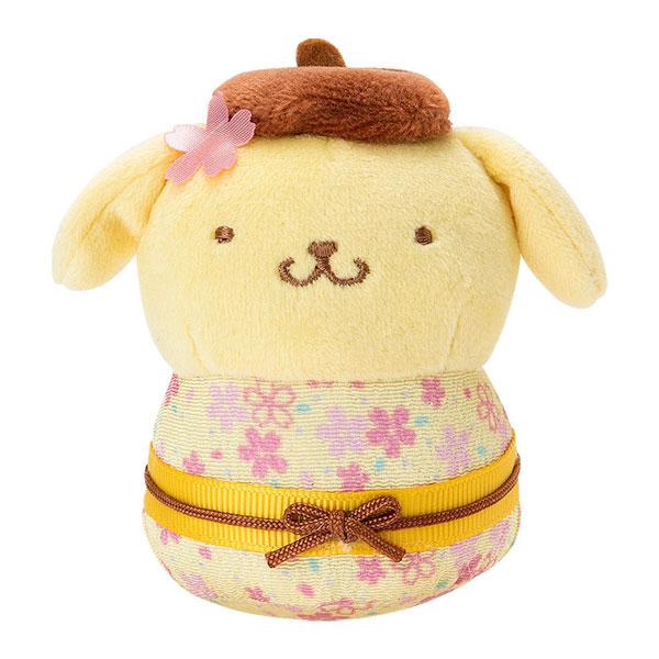 kawaii spring sakura pompompurin sanrio plush