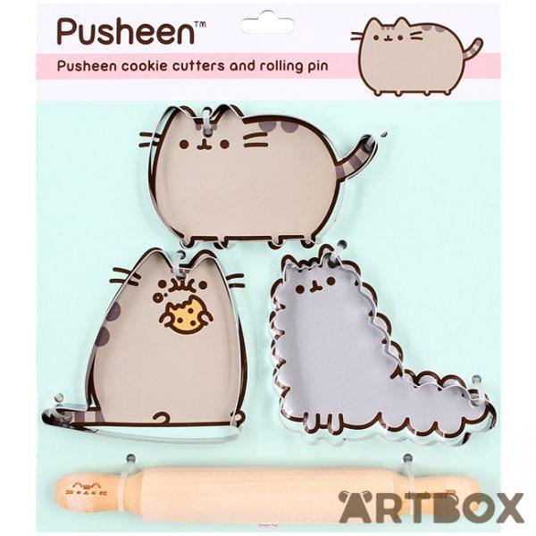 Pusheen Cookie Cutter Set