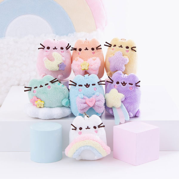 pusheen surprise plush rainbow