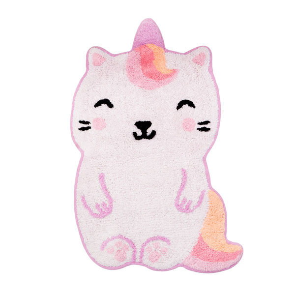 caticorn kawaii rug