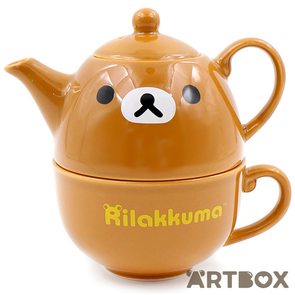 kawaii mugs rilakkuma teapot