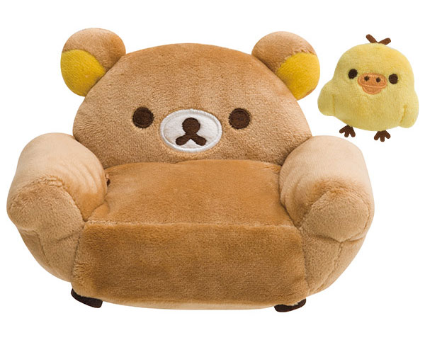 kawaii plush rilakkuma sofa