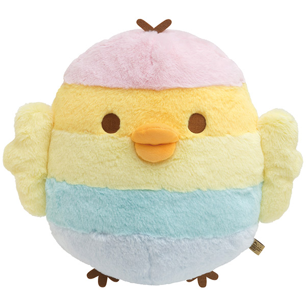 pastel rainbow kiiroitori kawaii plush