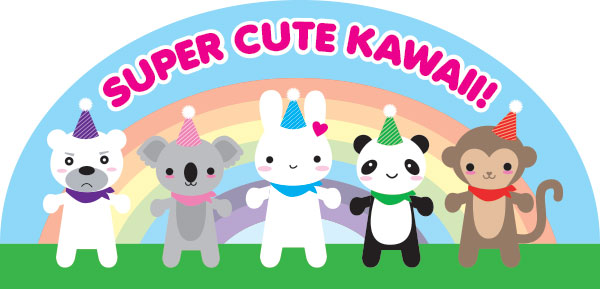super cute kawaii 10 year anniversary