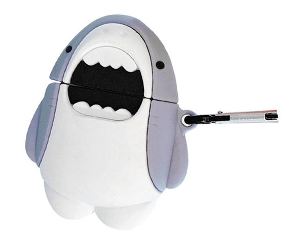 samezu sharks airpods case