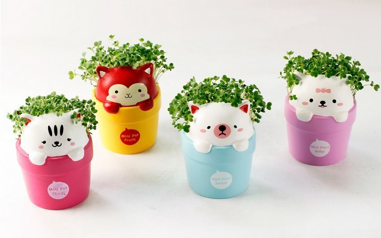 kawaii gardening cute planters amp pots super cute kawaii