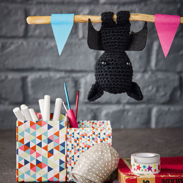 free bat crochet pattern
