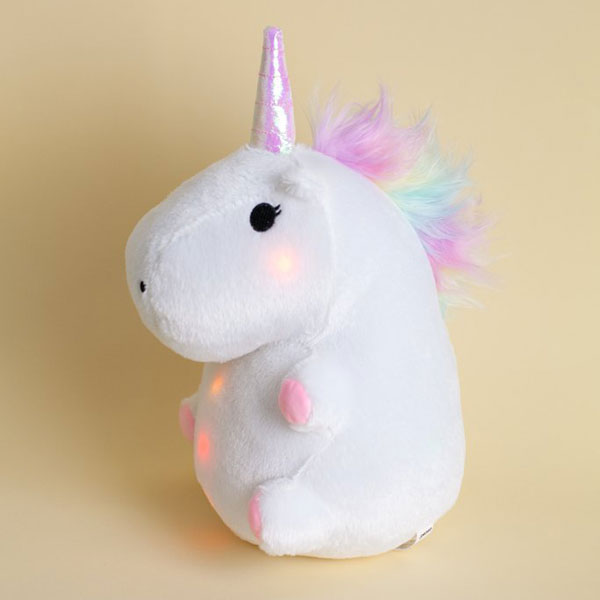 Kawaii Unicorns light up plush
