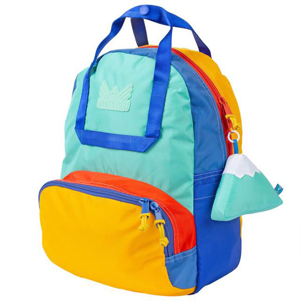 colourful backpacks