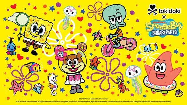 tokidoki Spongebob Squarepants free wallpapers