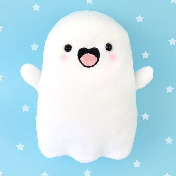 Spooky McCute kawaii ghost plush