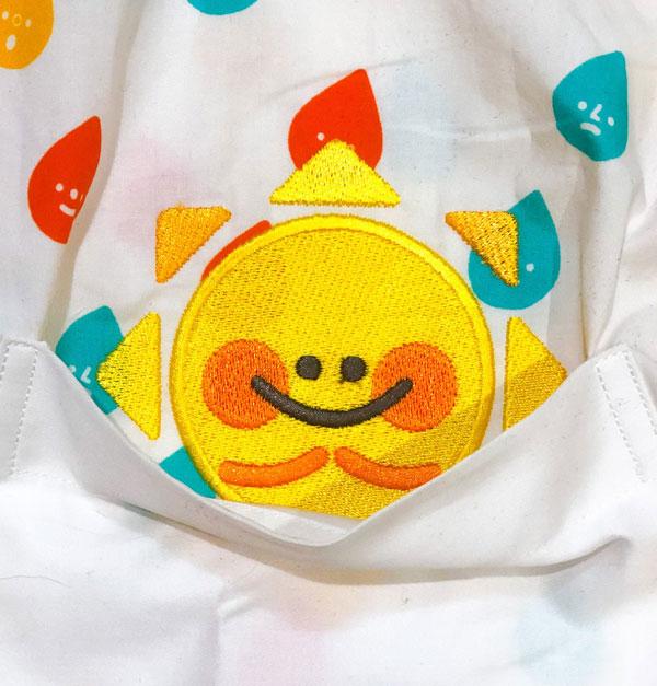 kawaii sunshine button up shirt