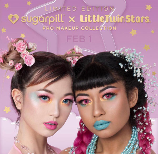 Sugarpill x Little Twin Stars Makeup