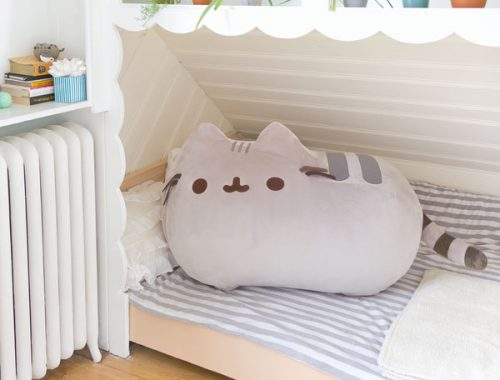 Pusheen giant plush kawaii giveaways