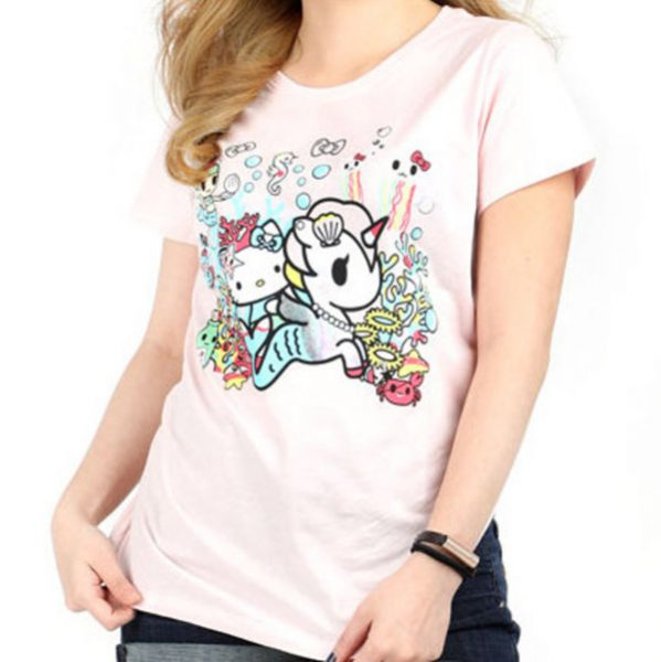 tokidoki x Hello Kitty kawaii tshirt