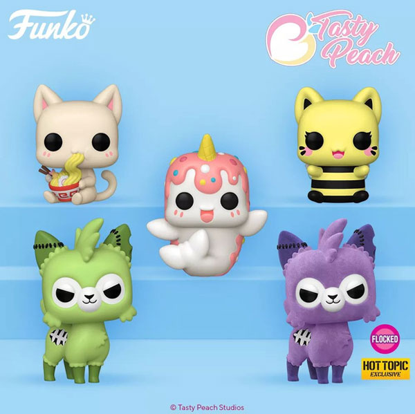 Tasty Peach Studios Funko Pops