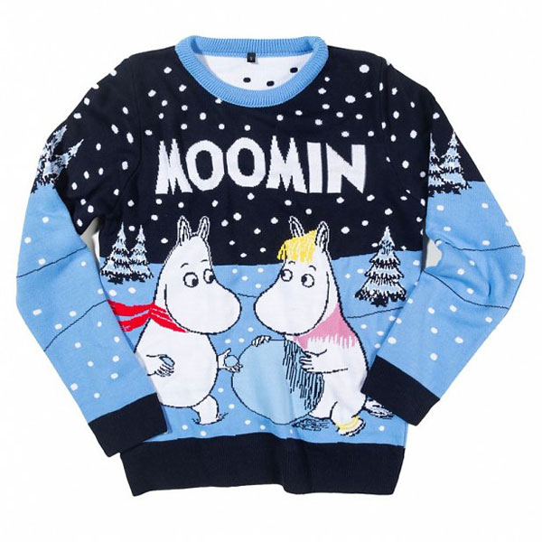 Cute Christmas Jumpers & Sweaters Moomins