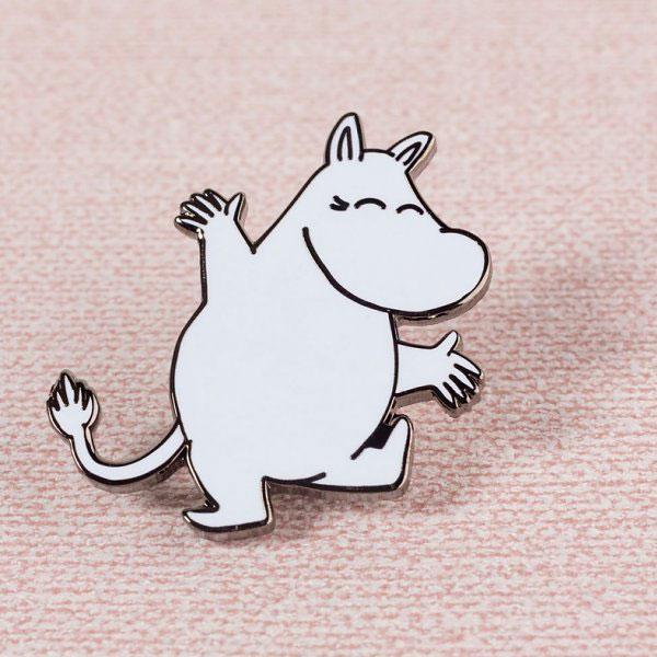 Moomins enamel pin