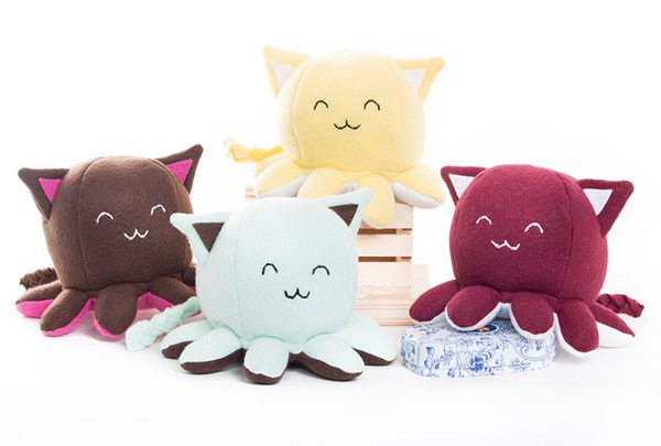 kawaii discounts - octopus cat plush