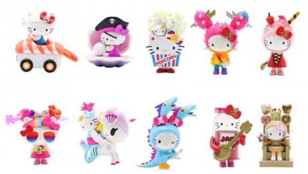 tokidoki x Hello Kitty kawaii blind box toys