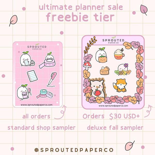 Ultimate Planner Sale - kawaii stationery