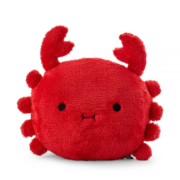 crab kawaii plush pillow