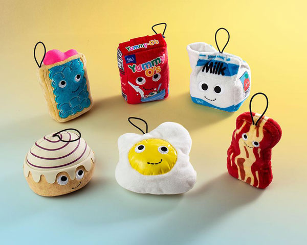 Yummy World kawaii breakfast plush