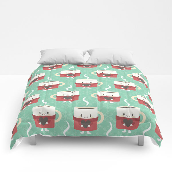 cute comforters kawaii coffee