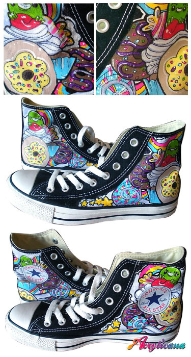 acrylicana shoes