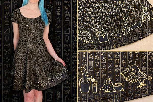 kawaii Egypt dress