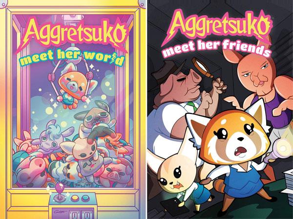 aggretsuko comics