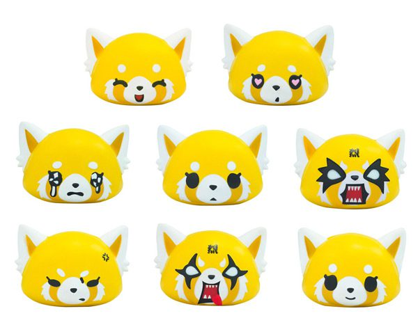 Aggretsuko red panda kawaii squishies