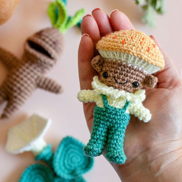 Cute Crochet Artists - airali_gray