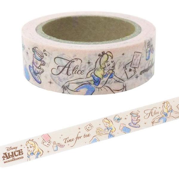 Kawaii Disney Stationery - Alice in Wonderland washi tape