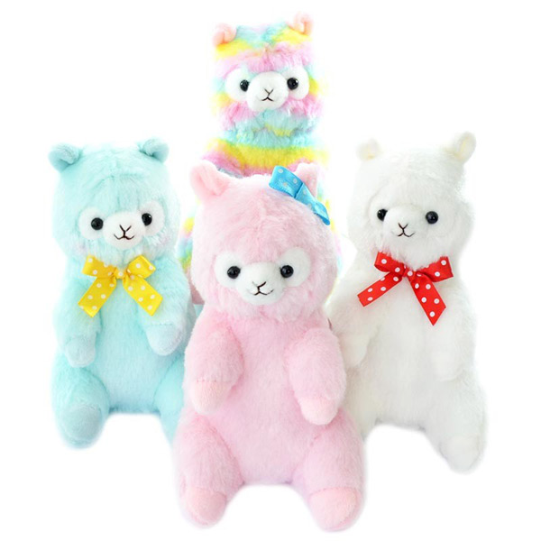 kawaii amuse alpacasso plushies